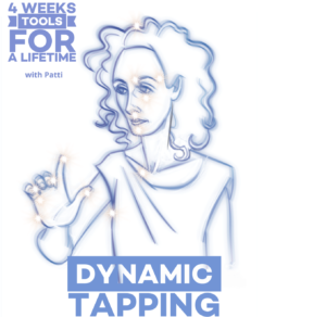 Study Dynamic Tapping tools for a Lifetime with Patti @ On Zoom