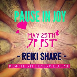 Students Reiki Share @ RSVP for address, WEHO
