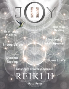Learn Pause inJOY Reiki II Class & Dynamic Tapping @ zoom and in person