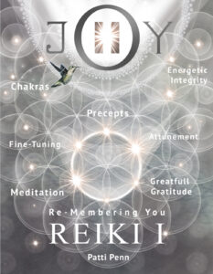 Learn PiJoy, Reiki I Class @ zoom and in person
