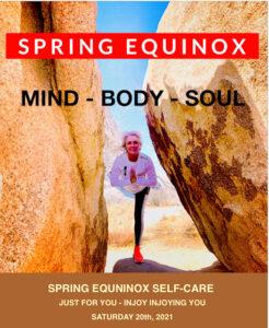 Spring Equinox Self-Care @ On Zoom & Patti Yoga TBA