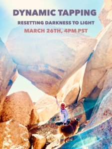 DYNAMIC TAPPING : RESET FROM DARK TO LIGHT @ On Zoom